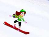 Сноубордистка