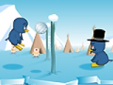 Пингвиний волейбол