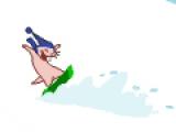 Снежная езда Руфуса