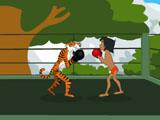 Маугли и Шерхан боксируют