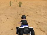 Водитель скоростного квадроцикла
