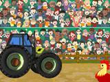 Прыжки на тракторе