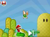 Супр Марио прыжки на башмаке