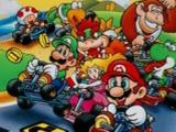 Фото езда Марио на спортивном автомобиле