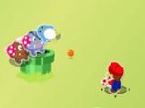Супер Марио противостоит сражению