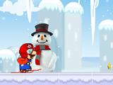 Снежная забава Марио