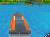 Гонка моторных катеров 3D