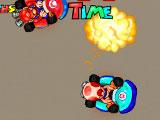 Марио, сражение на картинге