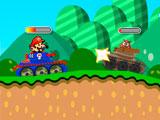 Приключения Марио на танке