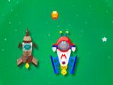 Гонка Марио в космическом пространстве