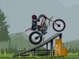 Весёлый мотоциклист