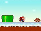 Марио, зимний мир