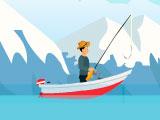 Рыбалка в большом озере