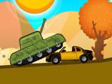 Танк в пустыне