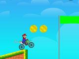 Марио, гонка на мотоцикле 3