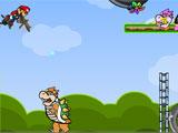 Марио, запуск бомб