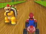 Гонка Марио под дождем 3