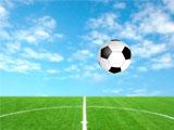 Соревнование по футбольному дриблингу