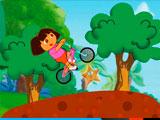 Езда на велосипеде Доры