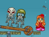 Ван Хелсинг против скелетов