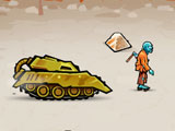 Ярость танка в городе зомби