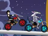 Бакуган на мотоцикле