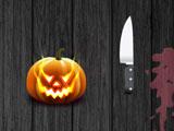 Покрошить Хэллоуинские тыквы