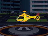 Приземление вертолета 2