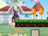 Марио бежит и стреляет