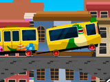 Водитель мини поезда
