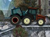Безумные гонки на тракторах