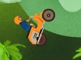 Гонка на велосипеде HD