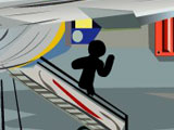 Смерть Стикмена в аэропорту