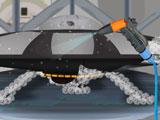 Мойка и ремонт летающей тарелки