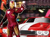 Железный Человек в гонке