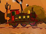 Паровой поезд на западе