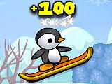 Пингвины на лыжах