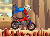 Забавная поездка на мотоцикле