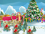 Снежная деревня