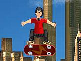 Паркур на скейте