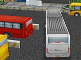 Автобусная парковка 3D мир