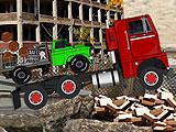 Перевезти груз на 18 колесном грузовике
