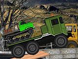 Экстремальный грузовой транспортер