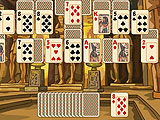 Пасьянс Египетская пирамида