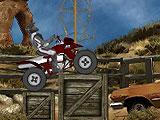 Гонка квадроциклов в пустыне