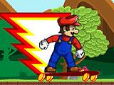 Марио - поездка на скейте 3