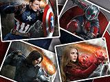 Головоломки: Капитан Америка - гражданская война