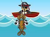Веселая рыбалка пирата