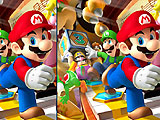 Супер Марио: найди отличия