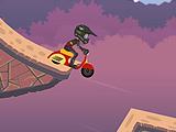 Гонка мотокросс - на холм